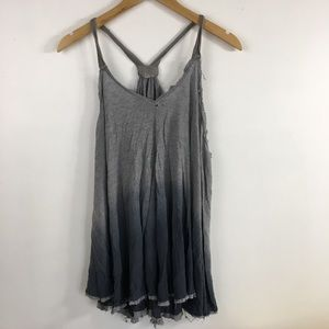 Urban Outfitters Ecote Ombre Gray Flowy Tank